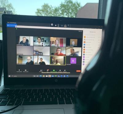 Online Videokonferenz mit Biertasting