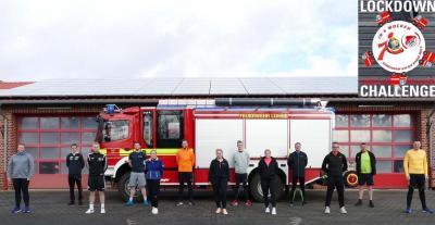 Feuerwehr Lohne beendet Laufchallenge erfolgreich
