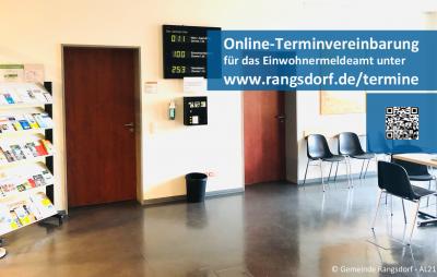 Online-Terminvergabe für Rangsdorfer Einwohnermeldeamt