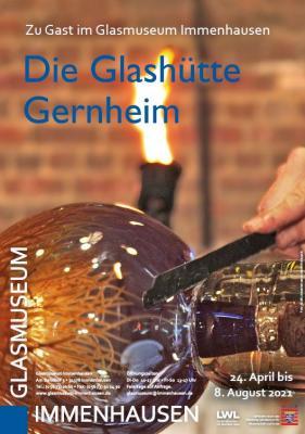 """Plakat """"Die Glashütte Gernheim"""""""