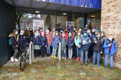 Foto zur Meldung: Besuch der 4. Klasse in der Phänomenta in Flensburg