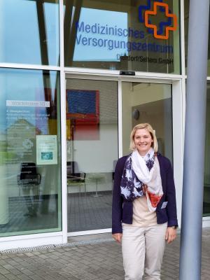 Vanessa Weldert, MVZ-Koordinatorin
