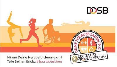 Logo: DOSB Sportabzeichen