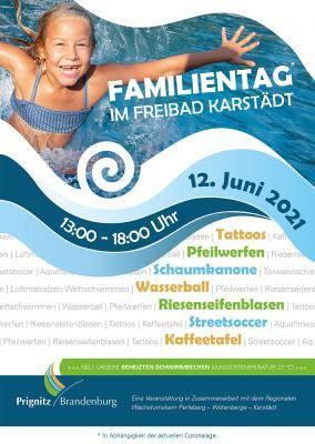 Familientag im Freibad Karstädt