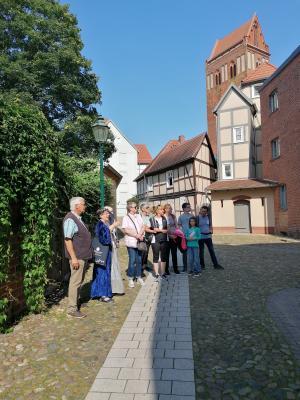Stadt Perleberg | Hanseführung durch die historische Altstadt und entlang der Stepenitz