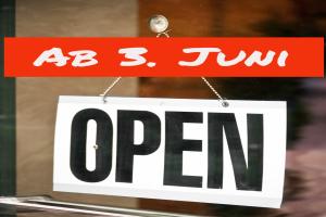 Museum und Café öffnen wieder ab 3. Juni