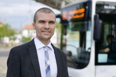 Foto zur Meldung: 2,8 Mio. Kilometer im Blick: Michael Schütze ist der neue Chef des regionalen ÖPNV