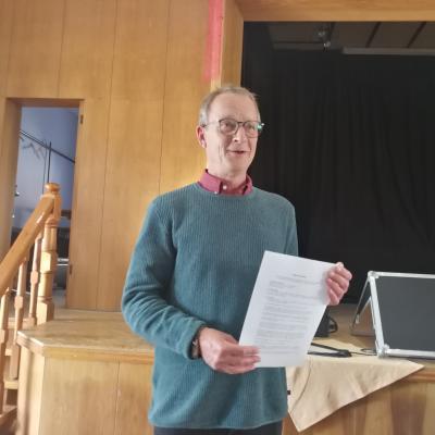 Foto zur Meldung: Uwe Salzwedel ist Landratskandidat der LINKEN
