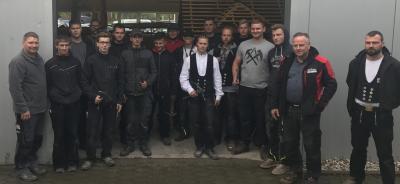 Bild der Meldung: Prüfungsvorbereitungswoche im Dachdeckerhandwerk in Leipzig 2021