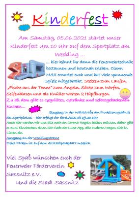 Kinderfest in Sassnitz