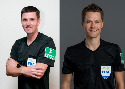 Zwei Brandenburger Schiedsrichter bei der EURO