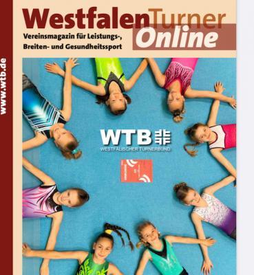 """Neueste Ausgabe des """"Westfalenturners"""" 06/2021 ist online"""