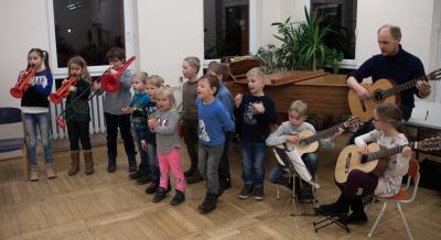 Teilnehmer des Schnupperkurses beim letzten Abschlusskonzert. Foto: Gerlind Bensler