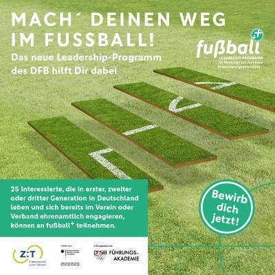 "DFB startet Leadership-Programm ""fußball+"""