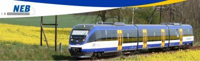 Foto zur Meldung: Die Niederbarnimer Eisenbahn (NEB) erhält den Zuschlagfür Netz Ostbrandenburg