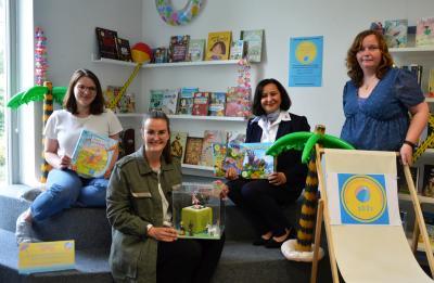 von links: Johanna Gumz, Christin Drescher, Susanne Künstler und Carolin Renkewitz I Foto: Martin Ferch