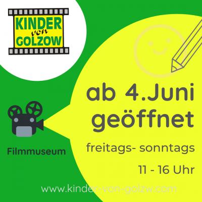Foto zur Meldung: Filmmuseum geöffnet
