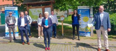 """Neues Wanderstempelbuch und App """"Naturpark Erleben"""" erschienen. (Foto: Landkreis Helmstedt)"""