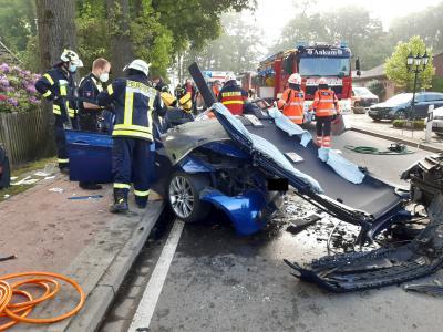 Verkehrsunfall Bippener Straße