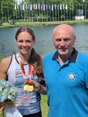 Foto zur Meldung: Paulina Paszek holt Deutschen Meistertitel bei den Finals