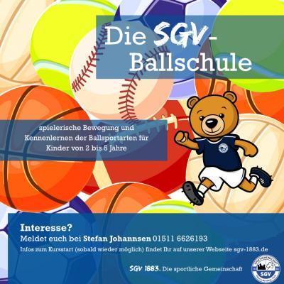 SGV Ballschule startet