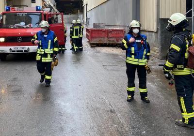Brandeinsatz in Giershagen