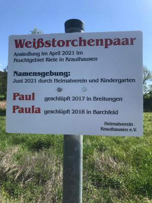 Foto zur Meldung: Der Heimatverein Krauthausen e.V. informiert