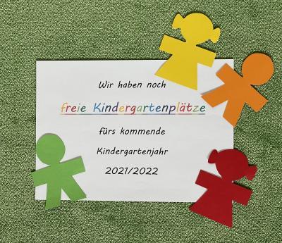 Wir haben noch freie Kindergartenplätze!!!