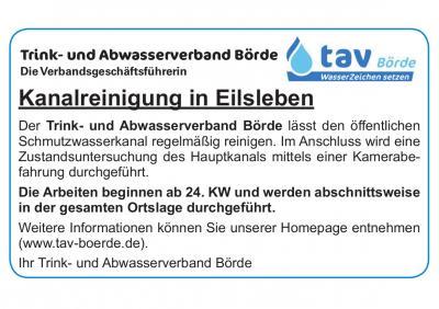 Kanalreinigung in Eilsleben