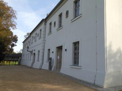 Foto zur Meldung: Corona-Testcenter im Alten Schloss
