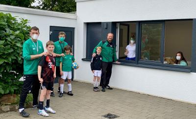 DJK-Ludwigsburg testet mit Hilfe von PraeMedicon PHYSIO die Jugendspieler vor dem Training