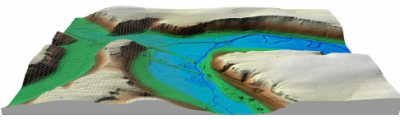 Digitales Geländemodell