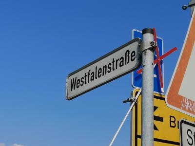 Foto zu Meldung: Start Bauarbeiten Westfalenstraße