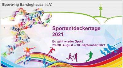 Sportentdeckertage 2021 – Es geht wieder Sport am 29./30. August – 10. September 2021 ...