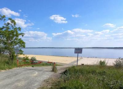 Der Großräschener Strand ist noch nicht zur Nutzung freigegeben.