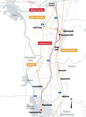 Foto zur Meldung: Digitale Infoveranstaltungen zur Bahn-Neubaustrecke Frankfurt-Mannheim