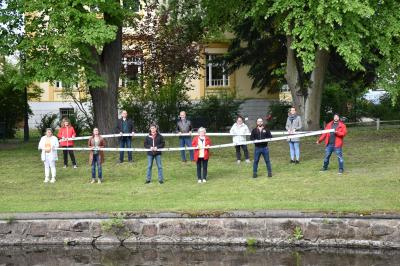 Stadt Perleberg | Wir wollen Gesicht zeigen. Mit diesem Foto zeigen wir, wer die treibenden Kräfte hinter unserem Bündnis sind.