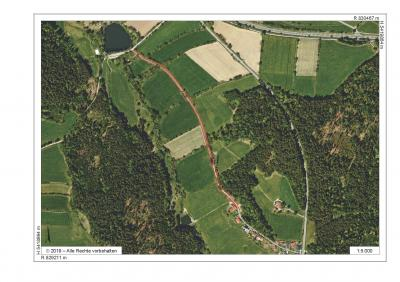 Sperrung des Verbinungsweges zwischen Naturbadeweiher und Saulorn bis Ende Juni