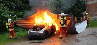 Freiwillige Feuerwehr Schafflund rüstet sich für brennende E-Autos