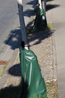 Bauhof der Stadt Kyritz erprobt neues Bewässerungssystem für Straßenbäume