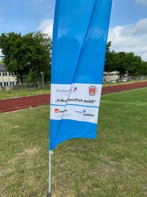 Foto zur Meldung: Pellens-Sportpark mobil