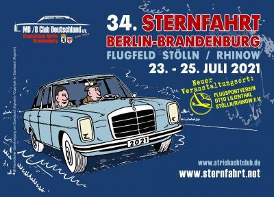 Wechsel des Veranstaltungsortes für die 34. Sternfahrt 2021