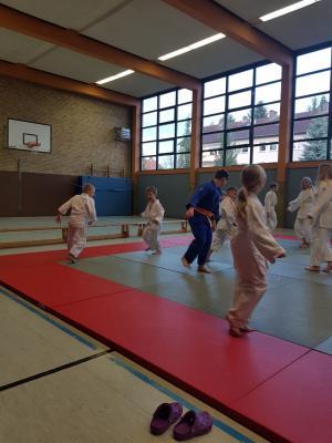 Schnupperkurs beim Judo im MTV Lauterberg