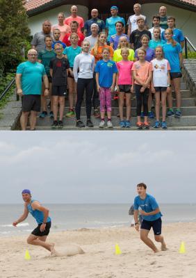 Foto zur Meldung: Laager Läufer waren endlich wieder auf der Insel