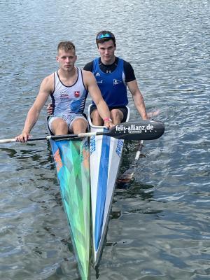 Foto zur Meldung: Anton Budimir und David Appelhans glänzen bei Junioren-Rangliste