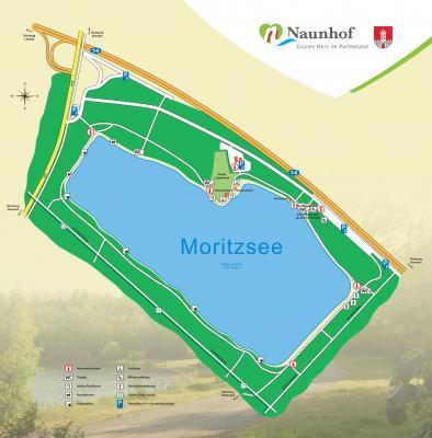 Parkflächen am Moritzsee