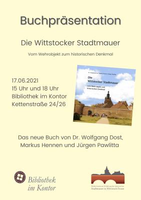 Stadtmauer: Buchpräsentation in der Bibliothek