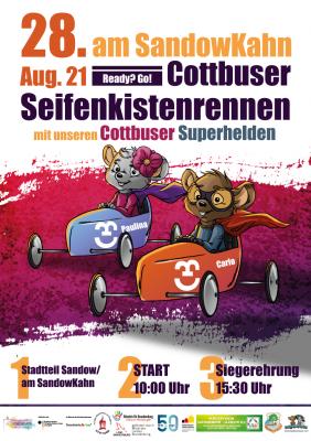Aktuelle Informationen zum Cottbuser Seifenkistenrennen 2021
