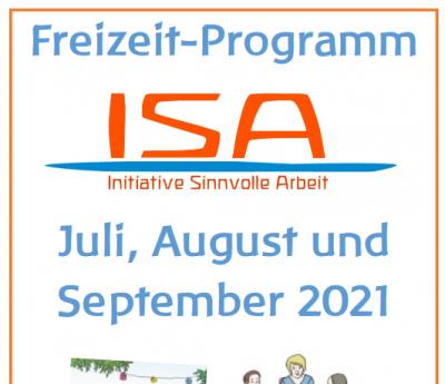 Neues Freizeitprogramm Juli - Sept. 2021