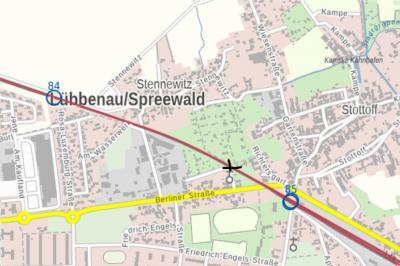 Foto zur Meldung: Information über Gleisbauarbeiten im Bahnhof Lübbenau in der Nacht 17./18. Juni